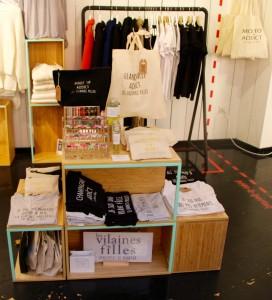 Box de la marque Les Vilaines Filles dans le concept-store My Box Corner de Lille., par chicon choc