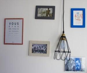 DIY cadré décoré en masking tape-chicon choc- blog lille 4