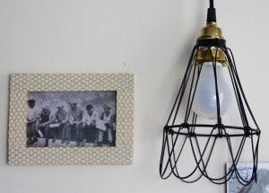 DIY cadré décoré en masking tape-chicon choc- blog lille 5