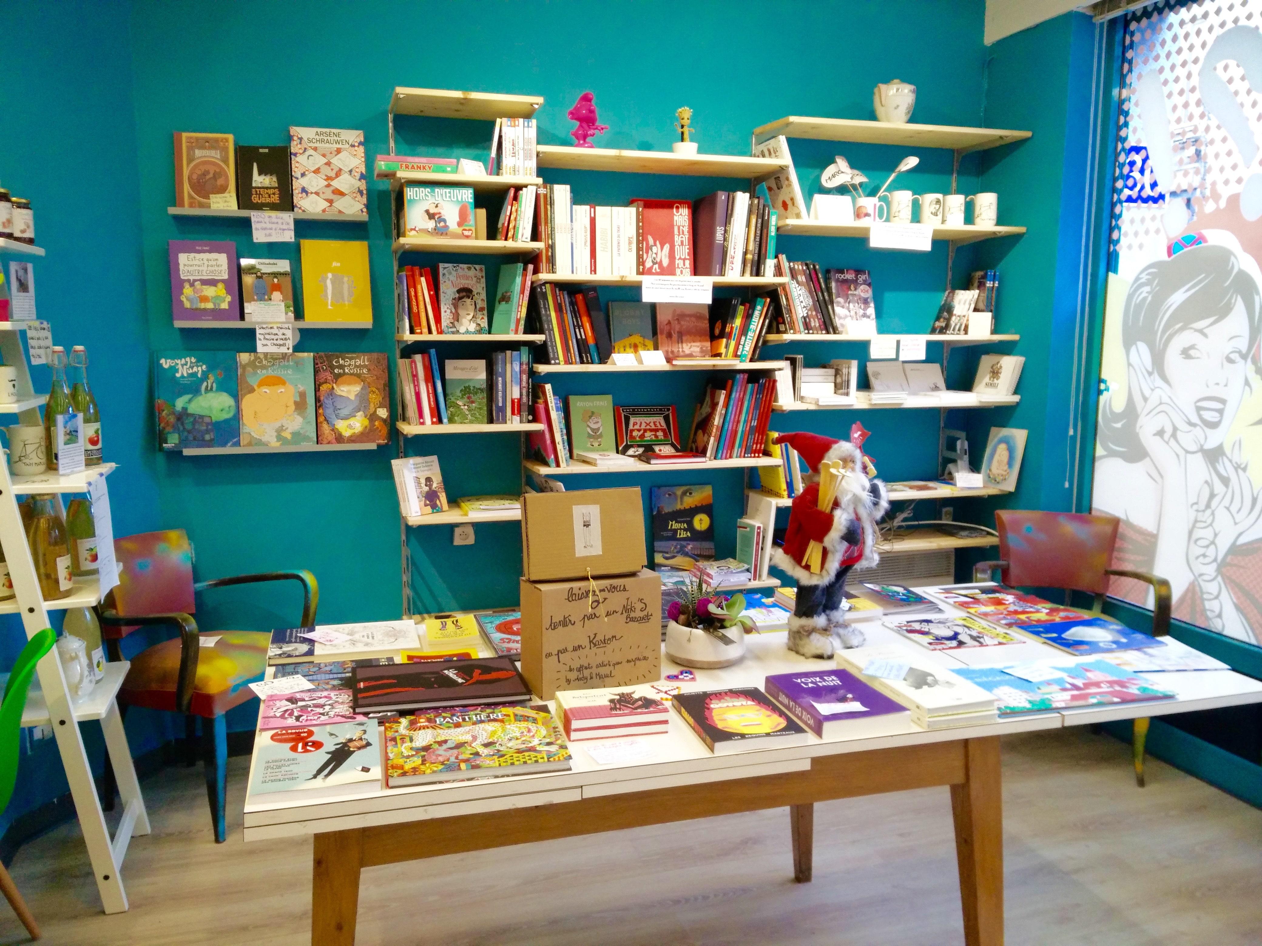 Andy marcel librairie bd salon de th lille chicon - Librairie salon de the ...