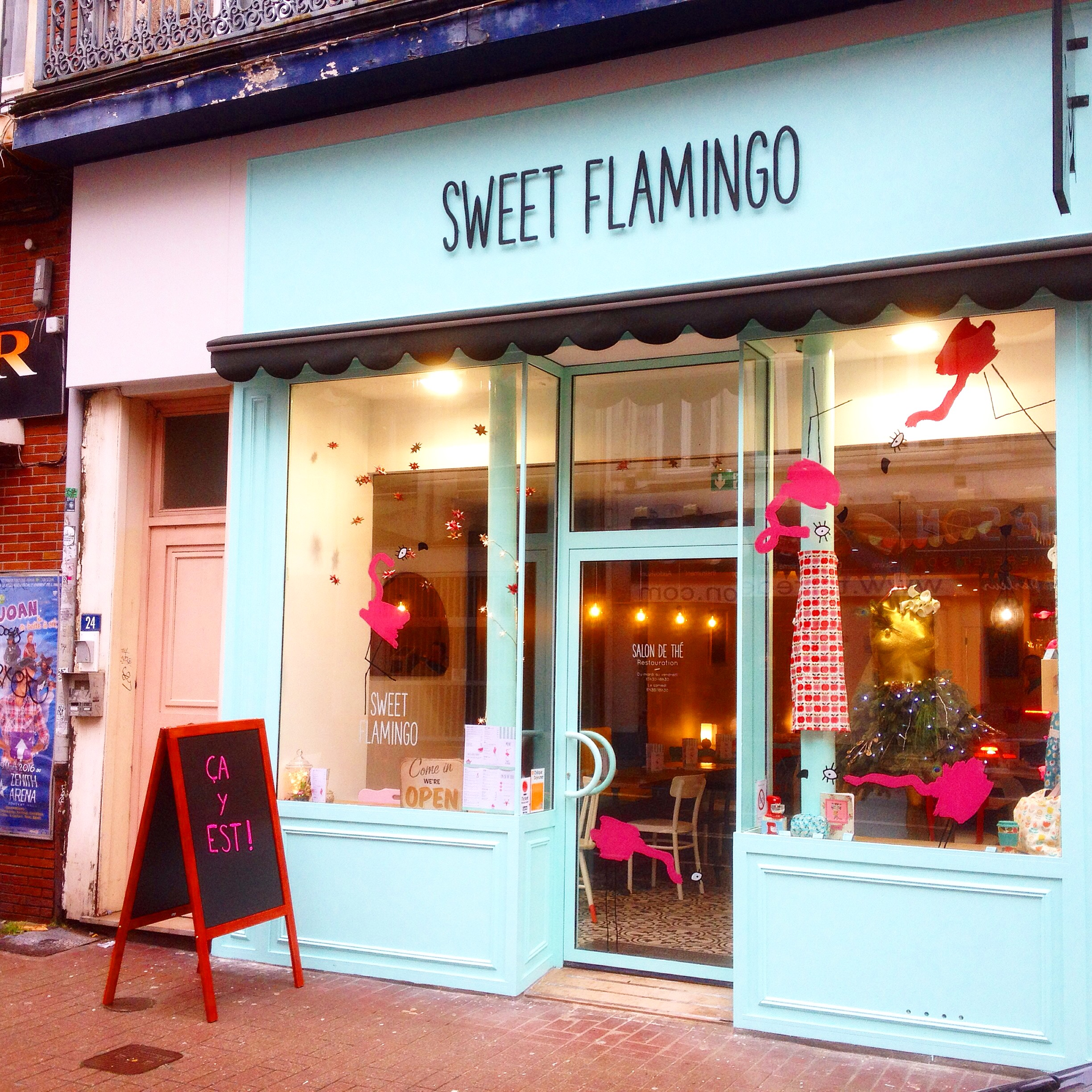 Sweet flamingo salon de th cocon aux saveurs new for Salon de the