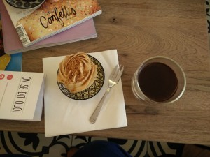 cupcake speculoos Sweet Flamingo salon de thé lille - chicon choc blog de bonnes adresses lilloises