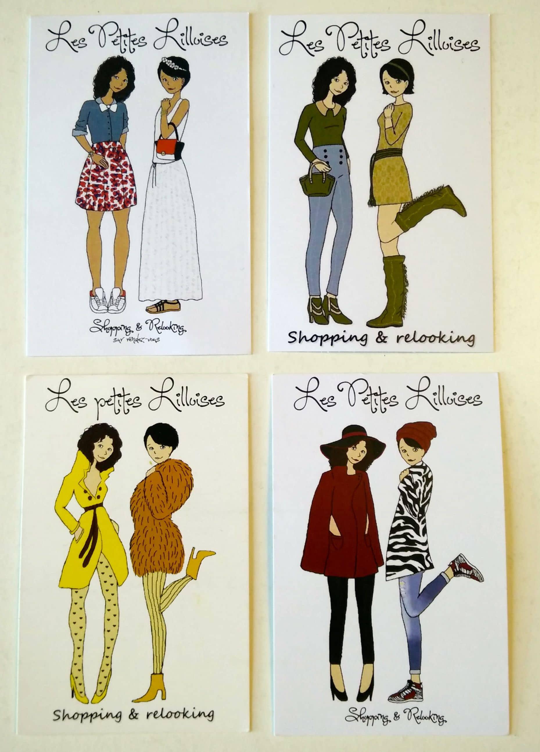 Cartes De Visite Les Petites Lilloises Shopping Domicile Lille Chicon Choc Blog Bonnes Adresses