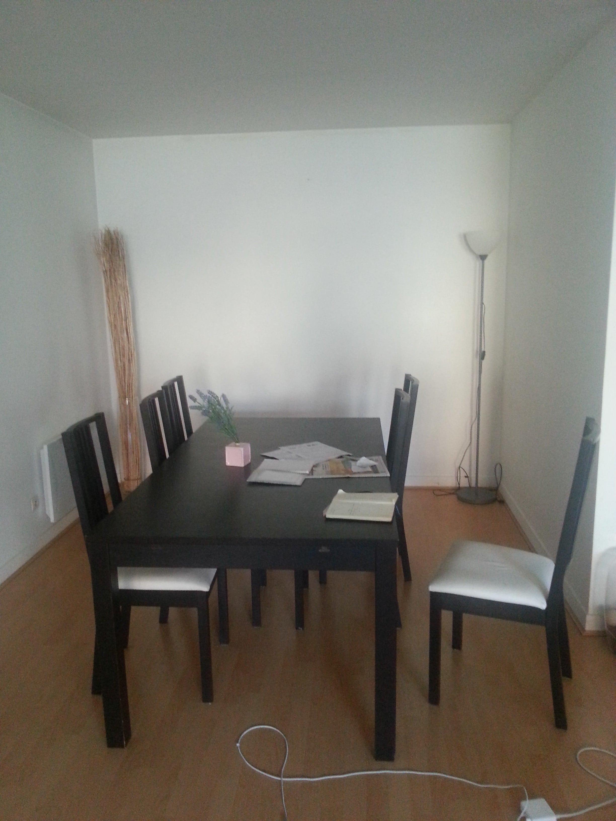 l 39 avant apr s de ma salle manger avec what a nice place chicon choc blog de bonnes. Black Bedroom Furniture Sets. Home Design Ideas