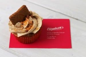 cupcake speculoos dejbox livraison de repas en métropole lilloise - chicon choc