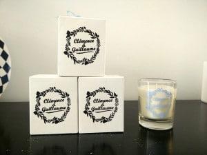 Bougies personnalisables mariage - label bougie création de bougies personnalisables à lille - chicon choc blog de bonnes adresses lilloises