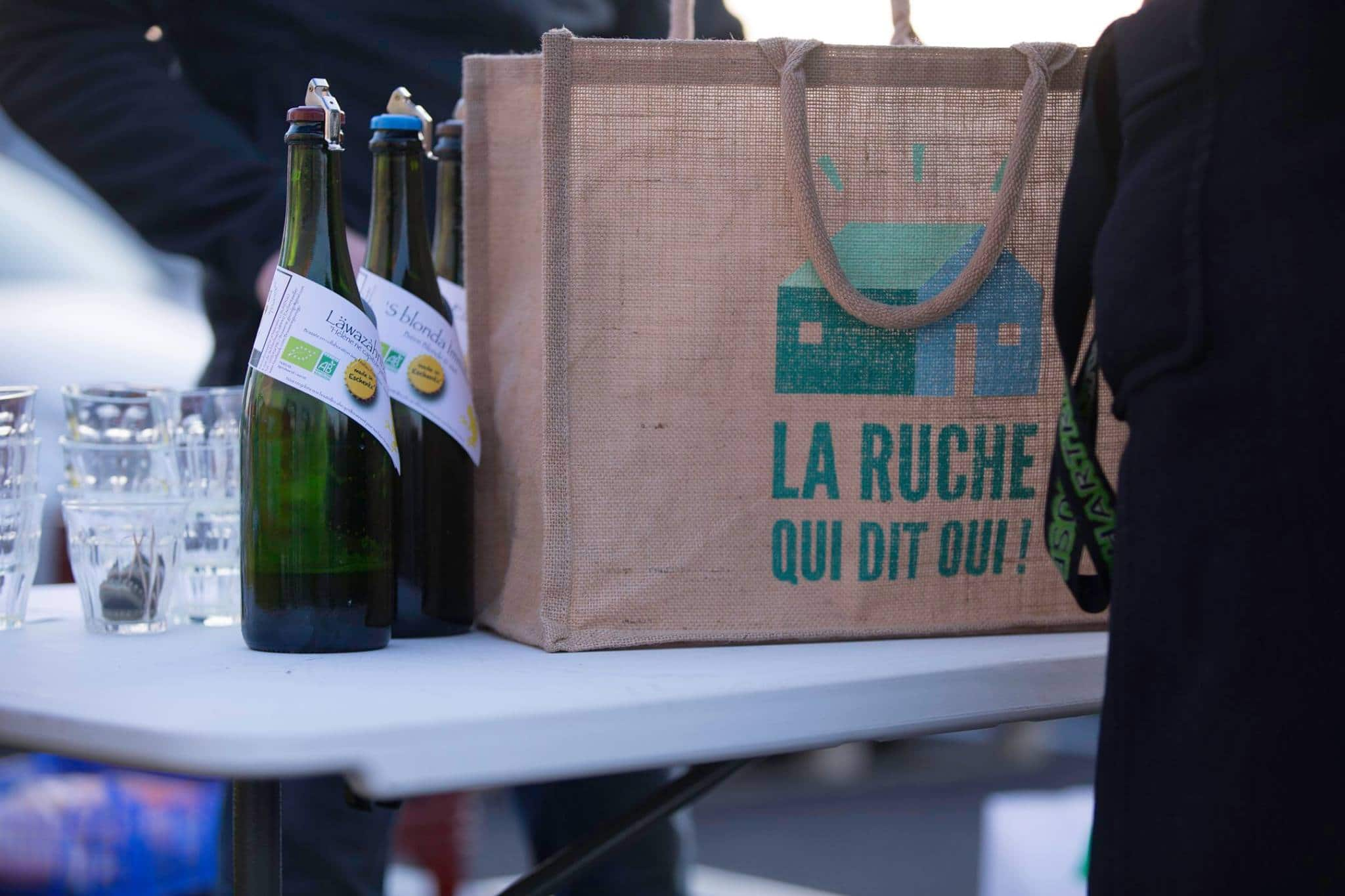 Course La Ruche qui dit oui consommer local- chicon choc blog de bonnes adresses lilloises