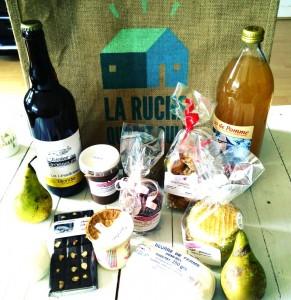 Panier de produits locaux La Ruche qui dit oui consommer local- chicon choc blog de bonnes adresses lilloises