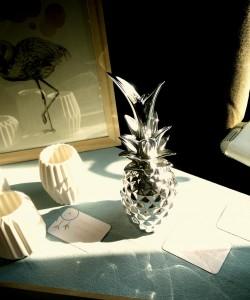 objet de déco ananas chez lovely summer, site d'objets de décoration scandinave - chicon choc blog de bonnes adresses lilloises