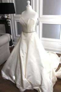 robe bustier Ma petite robe blanche, robe de mariée de créateurs à Lille - chicon choc blog de bonnes adresses lilloises