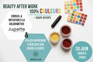 beauty afterwork colorimétrie mademoiselle biloba et jupette bar à jupes à lille le 30 juin - chicon choc blog de bonnes adresses lilloises