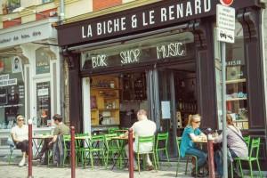 Bar la biche et le renard rue de Gand lille