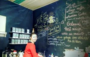 Marie-Charlotte créatrice salon de thé Andy & Marcel Lille