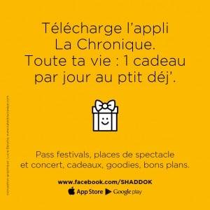 Jeux concours application la chronique lille