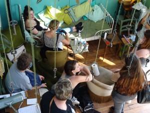 salle à manger salon le pavillon des canaux restaurant bar paris