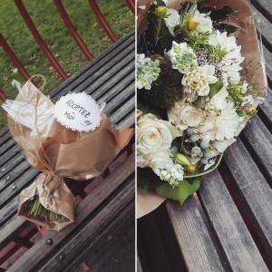 bouquet naturel flower by mariette lille