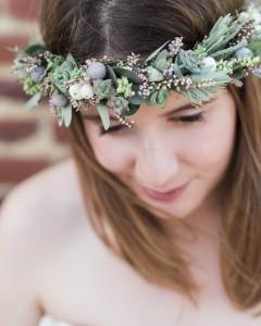 couronne de fleurs flower by mariette lille
