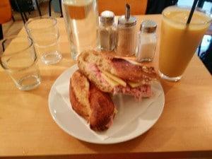 sandwich locavore jambon prince paris myrthe