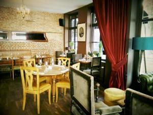 salle de restaurant comptoir 44 restaurant bistronomique lille rue de gand