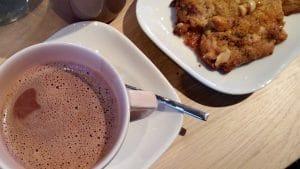 chocolat chaud cookie gouter restaurant pablo valentina lille