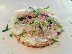 tartare poisson la royale restaurant vieux lille
