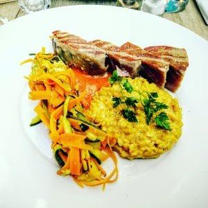 steak de thon mi-cuit comptoir 44 restaurant lille
