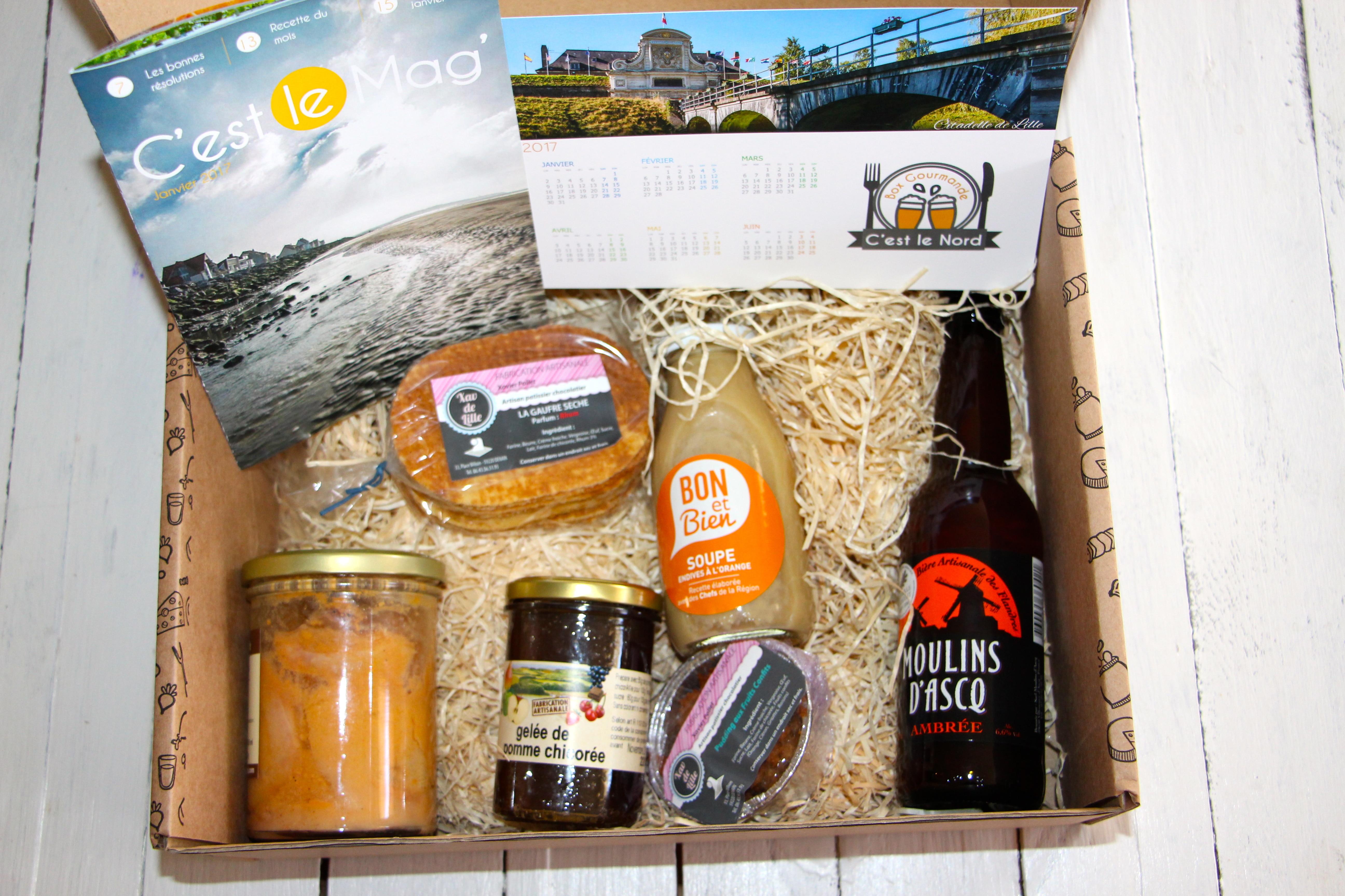 abonnement box produits locaux épicerie fine c'est le nord - chicon choc blog lille