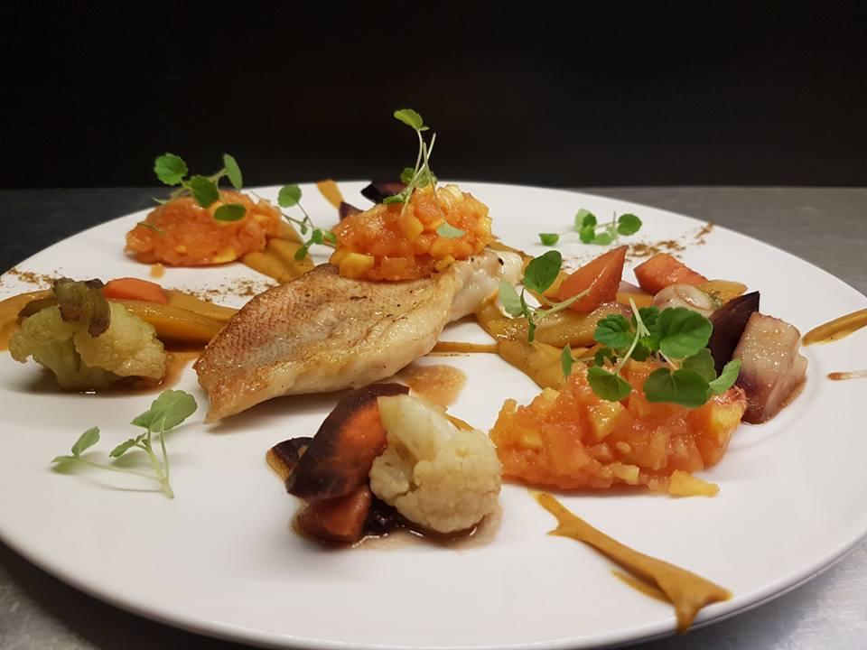 Plat restaurant gastronomique n 39 autre monde les bonnes - Blog cuisine gastronomique ...