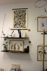 cadre végétal Atelier Kumo design shop magasin objet deco lille chicon choc blog lille