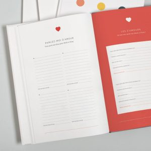 questions amour michelle mauricette livre d'or personnalisé mariage chicon choc blog lille