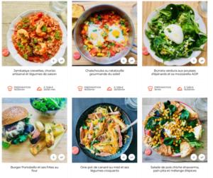 idées recettes kit repas mealizy chicon choc blog lille