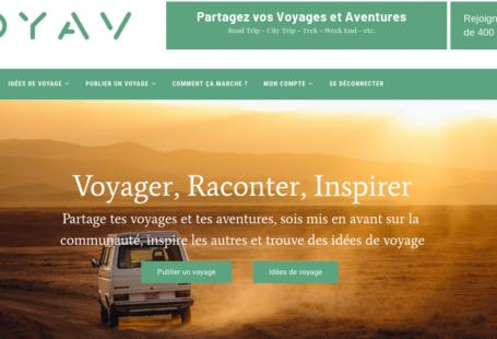 Goyav carnet de voyage en ligne