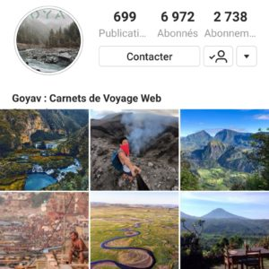 Goyav, relai de voyage sur instagram, site de guide de voyage collaboratif