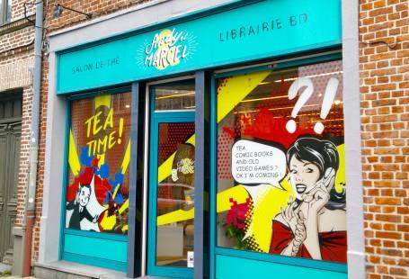 Andy et marcel, librairie bd salon de thé lille - chicon choc - blog lille