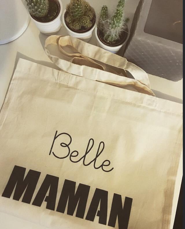 Tote-bag Belle maman chineuse chieuse - chicon choc blog de bonnes adresses lilloises 9