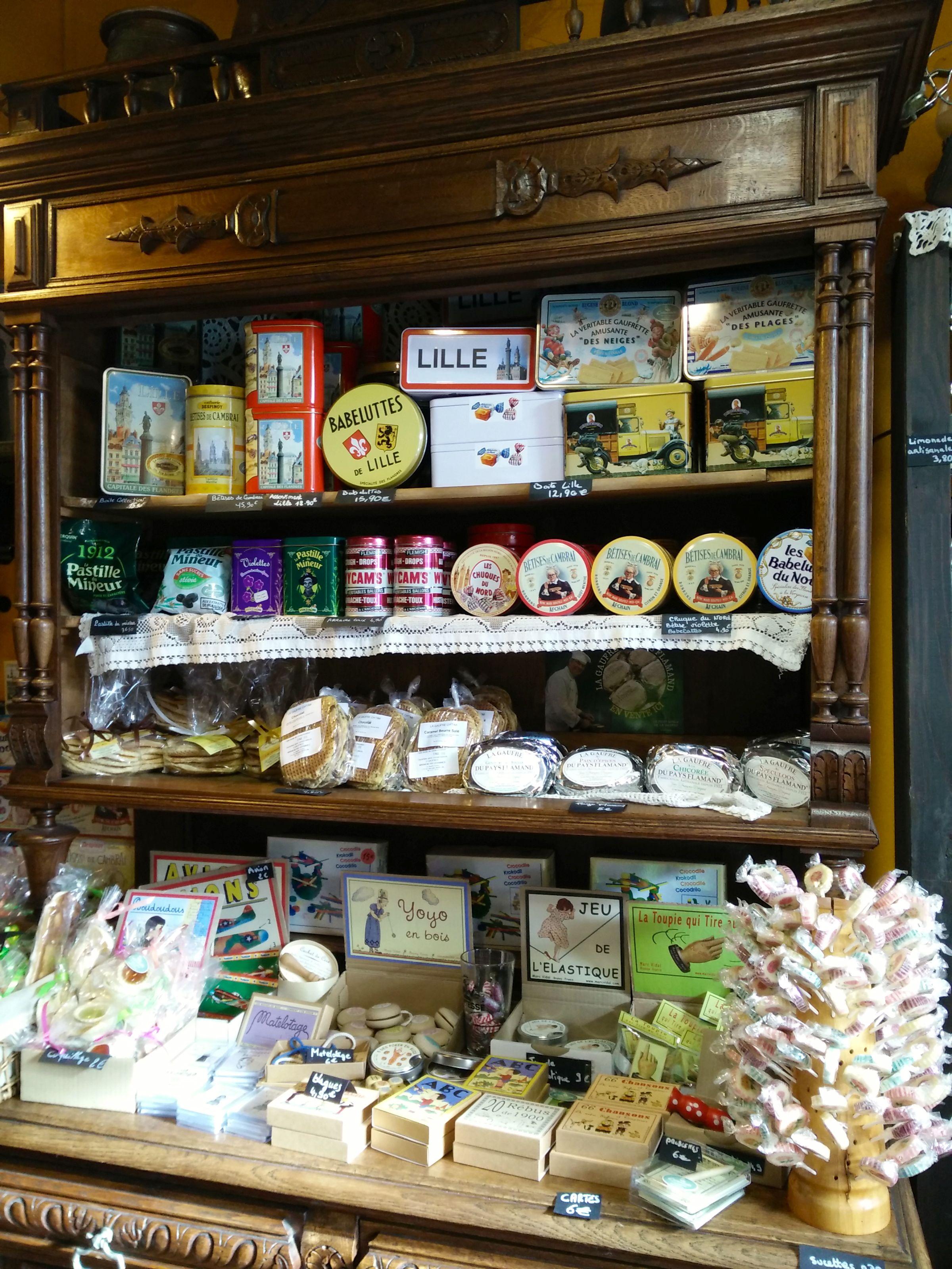 sucreries du nord boutique l'estaminette à lille - chicon choc blog de bonnes adresses lilloises