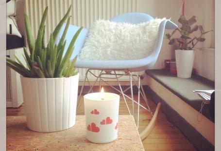 Bougie amour label bougie création de bougies personnalisables à lille - chicon choc blog de bonnes adresses lilloises