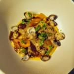 entrée coquillage comptoir 44 restaurant bistronomique lille rue de gand