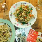 recette nouilles sautées plat asiatique Box à cuisiner mealizy chicon choc blog lille